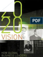 2020 vision how our global business leaders see Australia's future.