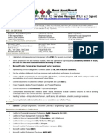 Project Manager Cover Letter Example 8