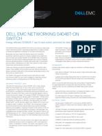 dell-emc-networking-s4048T-on-spec-sheet