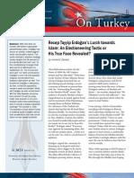 Recep Tayyip Erdoğan's Lurch towards Islam