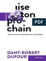 Dany-Robert Dufour – Baise Ton Prochain (2019)