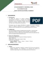 FORMATO PLAN OPERATIVO 2019