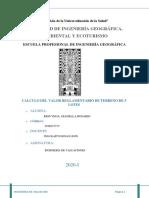 10145581_CALCULO DEL VALOR REGLAMENTARIO DE TERRENO DE 5 LOTES UBICADOS EN DISTINTAS MANZANAS DE LA ZONA DONDE VIVE