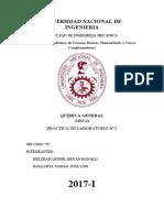 informe quimica lab 2