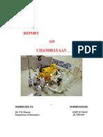 Chndrayan project
