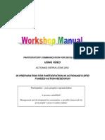 Workshop Manual Participatory Video Training Manual
