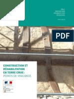 Construction Et Rehabilitation en Terre Crue - Points de Vigilance