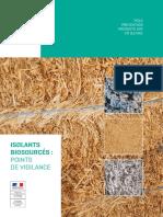 Isolants Biosources - Points de Vigilance