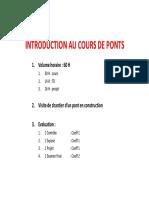 Chap 0 - INTRODUCTION AU COURS DES PONTS