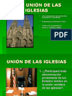 2- LA UNIÓN DE LAS IGLESIAS