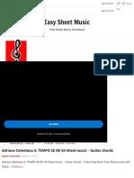 Adriano Celentano - Easy Sheet Music.pdf
