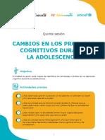 Procesos Cognitivos Durante La Adolescencia S3 Ccesa007