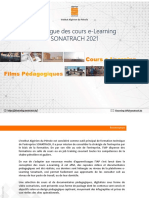 Catalogue e-Learning IAP 2021