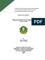 Proposal Adx Januari 2011 Peranan Ponpes Saadatuddarein