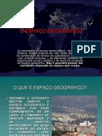 espaço geografico  slides