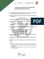 REQUISITOS PARA SOLICITAR DECLARATORIA DE ESTADO DE EMERGENCIA  POR BAJAS TEMEPERATURAS