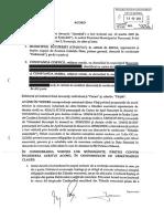 Acord semnat de primarul Capitalei cu familia Constanda