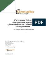 Foreclosure Report