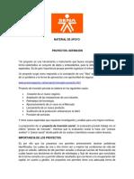 MATERIAL DE APOYO COORDINAR PROYECTOS