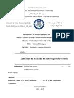 Validation de méthode de nettoyage de la verrerie.pdf