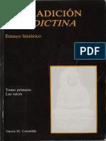 00 Colombás, García M. La tradición benedictina. Ensayo histórico Tomo 1. Las raíces.pdf