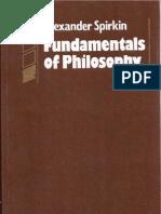 Alexander Spirkin - Fundamentals of Philosophy