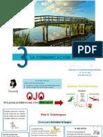 Unidad 3. Lacomunicaciónesunarte PPT-IAEE_Primerciclo