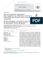 5. Publication - Data on antiplatelet aggregation, anticoagulation and antioxidant activities of Canna edulis Ker rhizome and its secondary metabolites..pdf