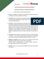 Anexo 2 - Pauta informe