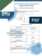 1. MULTIPLICACIÓN Y MÚTIPLOS 27- 30 ABR
