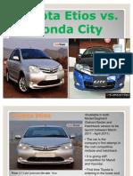 Toyota_Etios vs Honda City