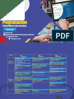 Programación Congreso (para formulario)