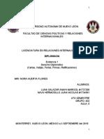 DIPLOMACIA EV 1