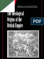 The Ideological Origins of the British Empir