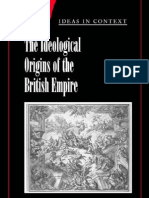 The Ideological Origins of the British Empir