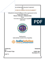 Risk & Return in Indian Stock Market