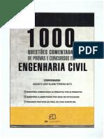 1000 questões comentadas de provas e concursos COMPLETO