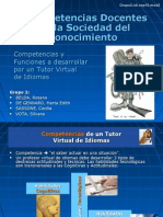 Competencias del tutor virtual