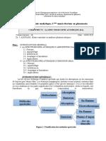 La spectroscopie atomique Cours de Chimie analytique 3eme année pharmacie Dr ADOUANI