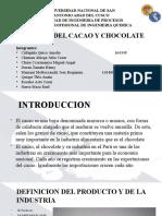 Industria de cacao y chocolate