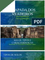 Geologia da Chapada dos Veadeiros - Breve análise