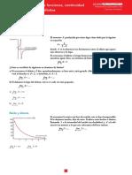 T6 Límites de funciones, continuidad y ramas infinitas. Anaya