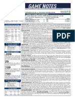 09.20.20 Game Notes