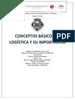 CONCEPTOS BASICOS DE LOGSITICA