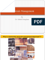 Materials and Waste Management