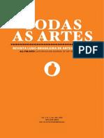 Revista Todas as Artes_Vol. 3_n.º 1_2020