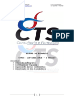 I MÓDULO - Manual Contabilidade - CTS, LDA