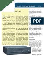 hi-fiworld Review of C 325BEE