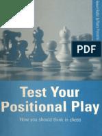 Bellin Robert, Ponzetto Pietro - Test your Positional Play, 1997-OCR, Batsford, 185p.pdf