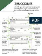 Planilla De Registro de Voluntarios